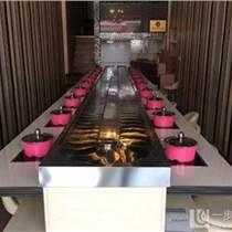东晟餐饮机械 铁岭旋转火锅设备 旋转火锅设备厂
