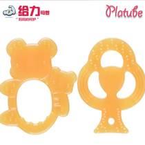廠家批發 寶寶牙膠 嬰兒牙刷磨牙固齒器 兒童咬咬樂玩具母嬰用品
