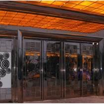 不锈钢饭店门、不锈钢、重庆艺耀不锈钢制品有限公司(图)