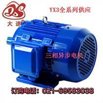嘉定区大速电机厂YX3-250-4--55KW供应总代直销