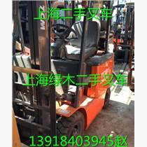 上海二手電瓶叉車供應 1.5噸TCM電動平衡重叉車