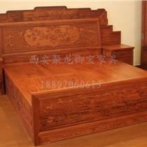 西安實木床│紅木床│老榆木床│仿古床供應 廠家直銷