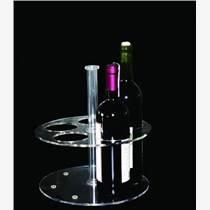 郑州有机玻璃亚克力定制加工酒杯架