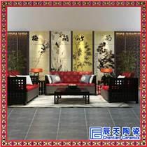 別墅裝飾瓷板畫 重工粉彩瓷板畫 瓷板畫價格 浮雕瓷板畫
