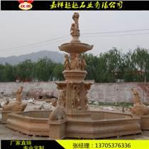 小區銹石噴泉雕塑價錢