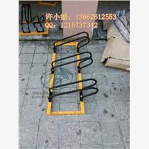 厂家可定制各类不锈钢单车停车架自行车摆放架锁车架