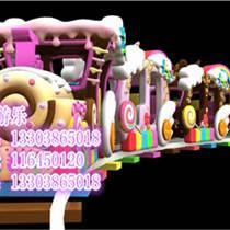 安徽廣場4節4座兒童軌道小火車價格