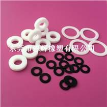耐高溫鐵氟龍墊片 耐磨塑料絕緣墊片 白色阻燃四氟墊片廠家