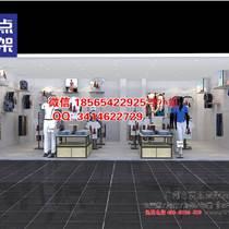 哈尔滨展柜:KM男装货架