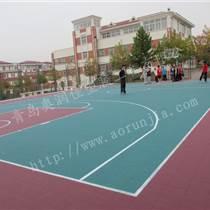 篮球场地板,悬浮拼装地板