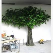 北京供應仿真樹價格桃花樹葉子樹定做廠家