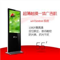 虎易55寸windows/安卓版圓角落地一體機觸摸教學機信息查詢廣告機