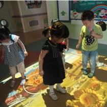 學前教育裝備游戲化教學幼兒園地面投影互動游戲魔幻地面