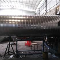 螺旋風管廠家 鍍鋅螺旋風管生產工作原理
