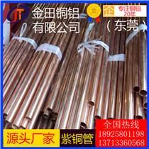 TU1無氧銅管 紫銅毛細管 c1100紫銅管 高精環保紫銅帶