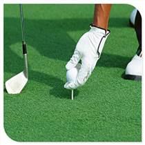 門球場專用人造草,高密度高爾夫球場草,休閑景觀綠化卷絲草坪