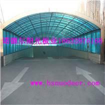 PC陽光板 4mm板材 山東車棚專用陽光板 雙層透明板