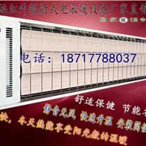 承德電熱紅外輻射采暖器 壁掛式輻射電加熱器車站采暖設備SRJF-X-40