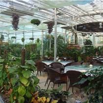 修建生態餐廳、保溫性陽光板、中空PC板材