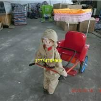 漢中拉車機器人日本鬼子兵拉車機器人
