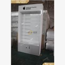 多層款式蘋果掛勾配件柜 黑色LOGO配件柜質量