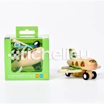 木质小飞机玩具批发朗晟婴童产品批发包邮