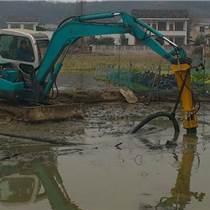 國內首創挖掘機液壓清淤泵--提高效率,節省成本