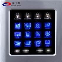 定制触摸屏幕玻璃、丝印玻璃、钢化玻璃、显示器玻璃、开关面板玻璃