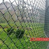 批发菱形网/镀锌铁丝网/包塑绿色/勾花编织/场地护栏/按需要规格生产