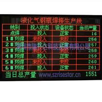 深圳瑞升達科技供應LED電子看板PLC看板生產看板