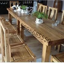 益家居老榆木家具 老榆木餐桌椅