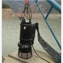 耐磨潛水砂泵-電機與泵潛入水下作業