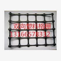 供应厂家直销2017鸭棚用235g塑料方格网塑料土工格栅