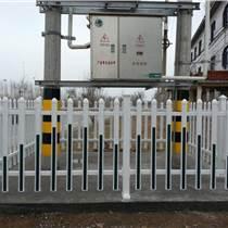 變壓器圍欄PVC電力箱變護欄塑鋼配電室護欄