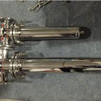 卫生医药级管道式过滤器5英寸除菌快接304不锈钢除菌气液体过滤器