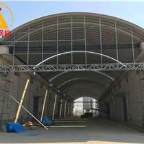 彩钢拱形屋顶 佛山914-610型彩钢拱形屋顶小跨度