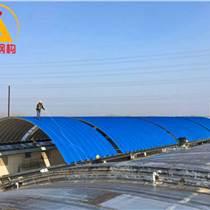 拱形波纹钢屋盖 长治118型拱形波纹钢屋盖大米厂