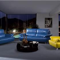 佛山真皮沙發 佛山組合沙發 現代時尚家具 客廳家具 億思LZ020