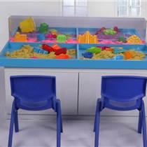 儿童益智玩具diy手工串珠桌幼儿园积木玩具桌展示台加盟