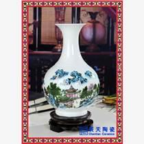 彩繪仿古花瓶 創意陶瓷花瓶 藝術賞瓶定制