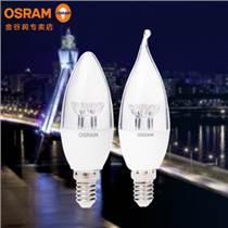 歐司朗 3.3W LED尖泡 兩只裝透明E14 特價行貨