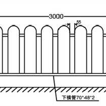 新途批发常规乙型护栏京式护栏,定制其他规格