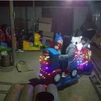 洋洋四节豪华轨道火车 室外电动轨道小火车 广场托马斯轨道火车游乐设备