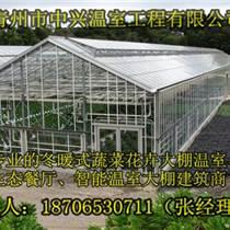 供應山西太原花卉培育玻璃溫室建造