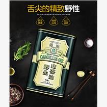 供应绿达野生山茶油1L罐装  低温物理压榨