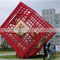 方块不锈钢雕塑,抽象几何雕塑,不锈钢雕塑工厂