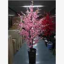 北京仿真桃花树厂家 假树价格
