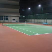 天津塑胶网球场|天津硅pu网球场施工|天津网球地塑胶面层