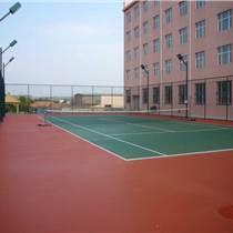 天津网球场悬浮拼装地板|塑胶地板安装-图案设计