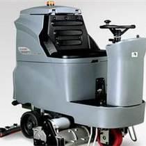 GM110BTR80 贵州地区高美驾驶室洗地车洗扫吸全自动大型工业洗地机